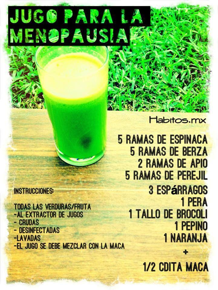 Remedios herbales para la menopausia