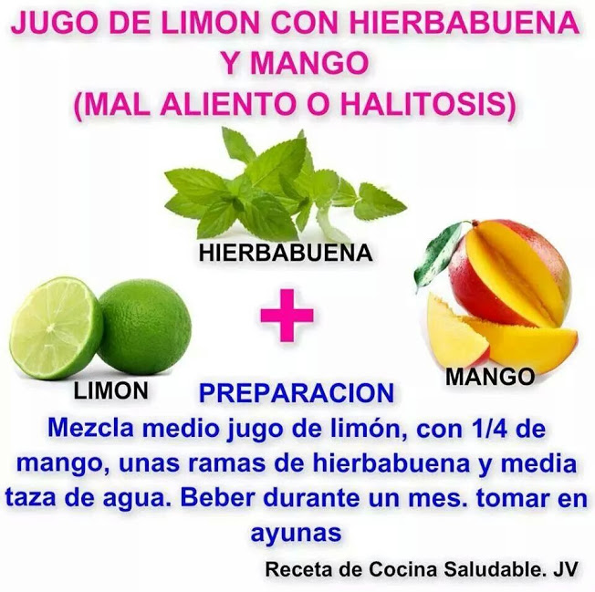 remedio mal aliento o halitosis