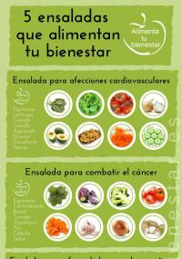 beneficios de los diferentes tipos de ensaladas