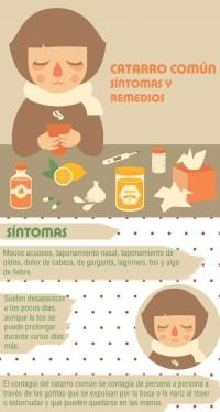 remedios y sintomas del resfriado común