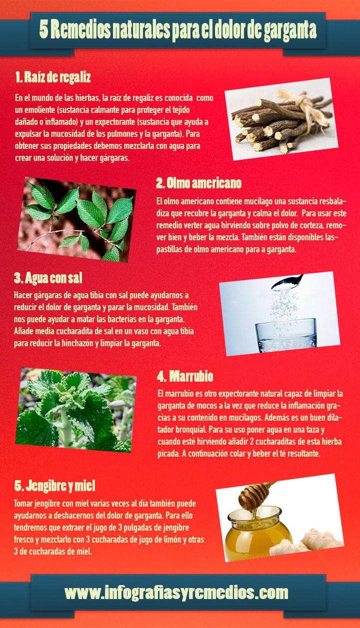 5 remedios naturales para el dolor de garganta - Garganta reseca remedios ...