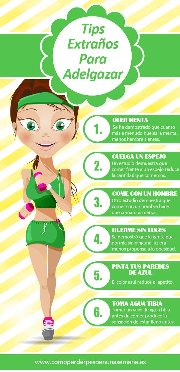 6 tips extra os para adelgazar for Deportes para adelgazar