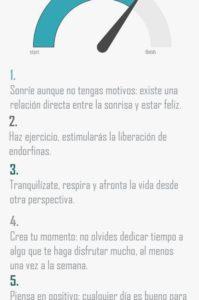5 pasos para tener buen humor