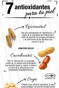 antioxidantes para cuidar la piel