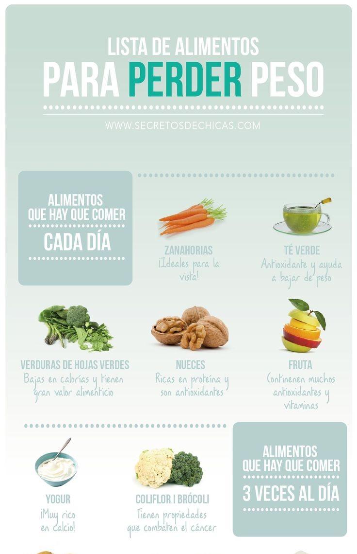 Trucos como bajar de peso rapido dieta para adelgazar la - Alimentos para perder peso ...