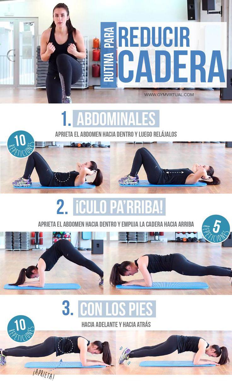 7 Ejercicios para reducir la grasa de la cadera