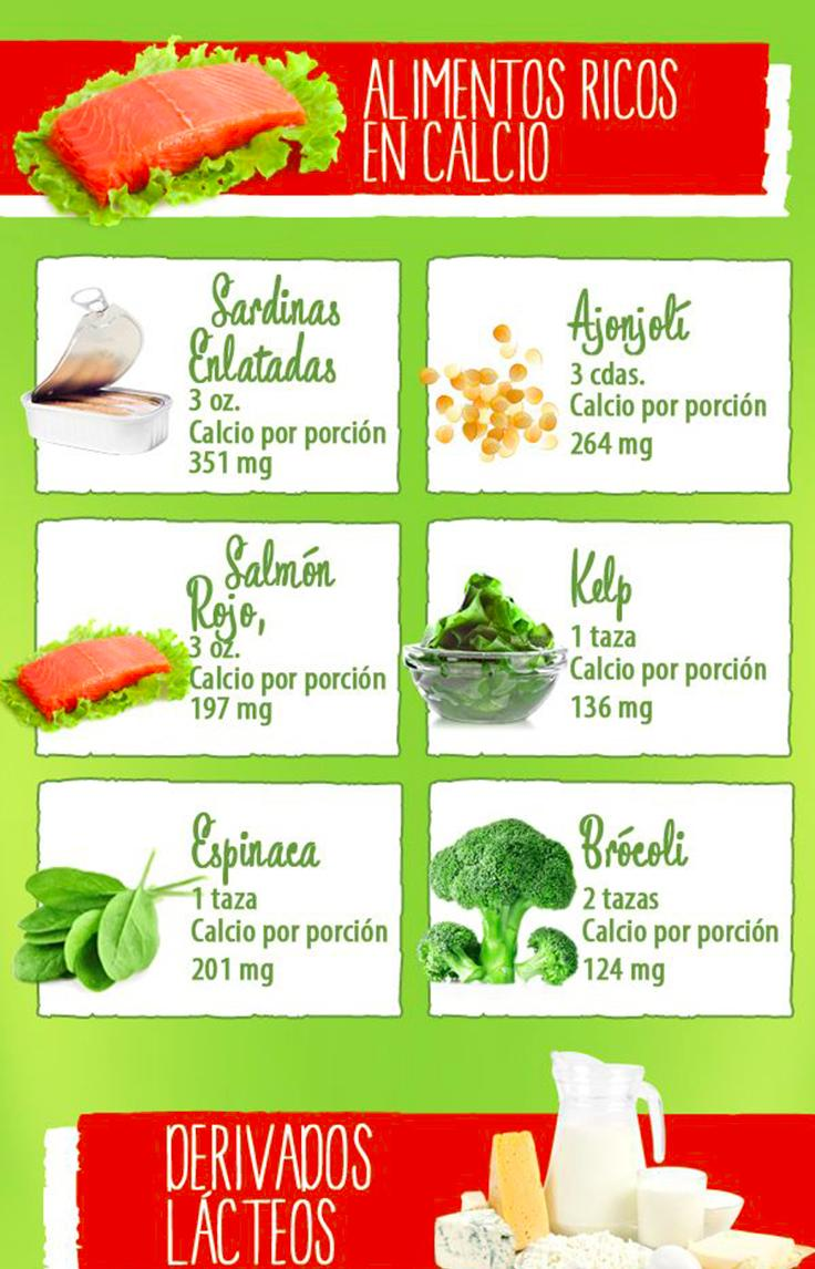 11 alimentos ricos en calcio - Que alimento contiene mas calcio ...