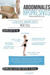 ejercicios de abdominales hipopresivos