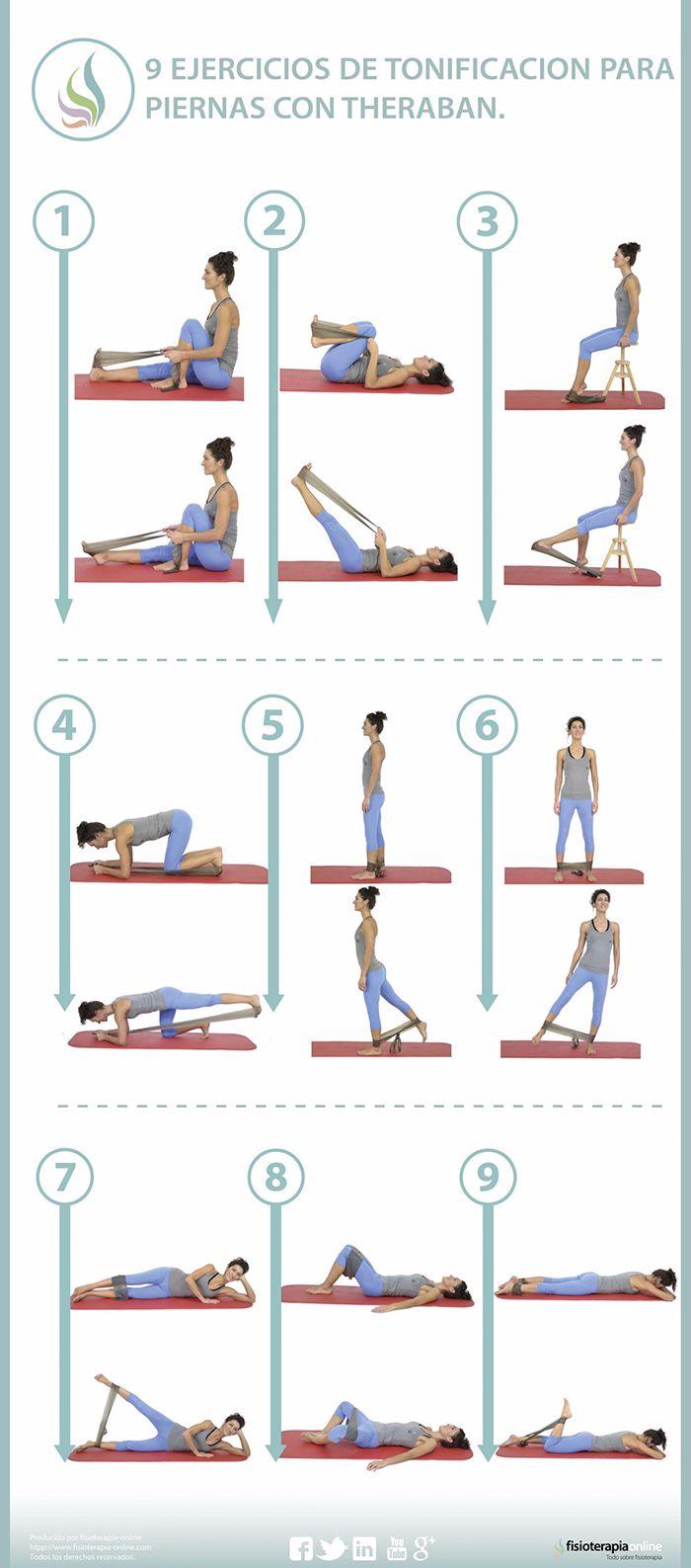 ejercicios con bandas elásticas