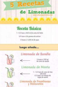 recetas de limonada casera