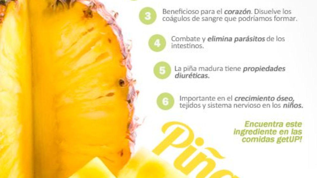 Los Beneficios De Comer Piña Infografías Y Remedios