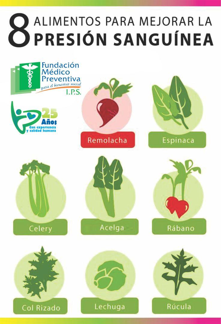 8 alimentos para mejorar la presi n sangu nea infograf as y remedios - Alimentos para mejorar la artrosis ...