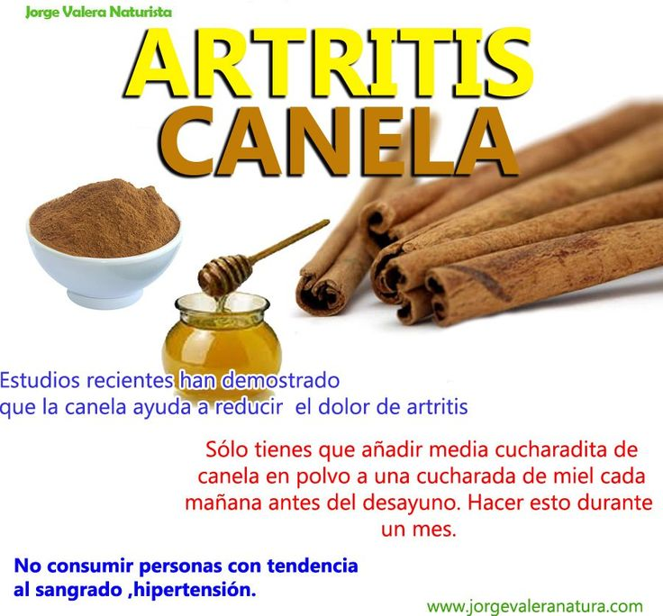 remedio natural para la artritis