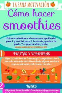 como hacer smoothies