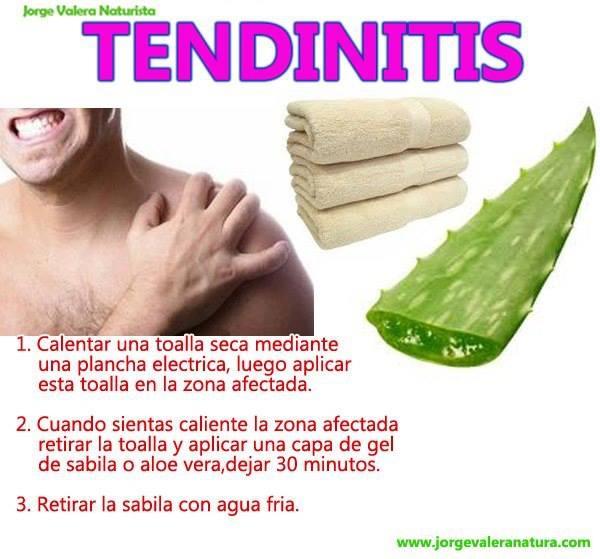 remedio para la tendinitis