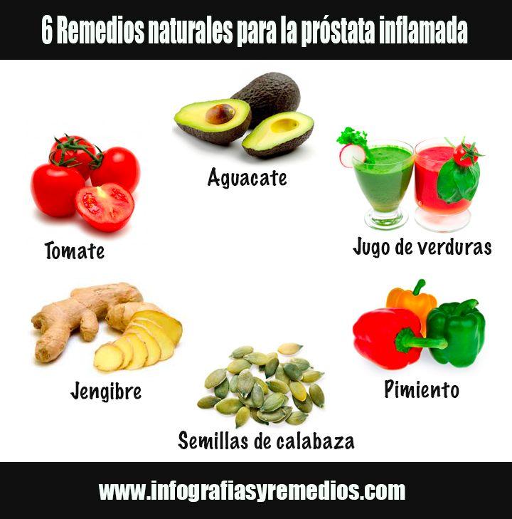 remedios naturales para la próstata inflamada