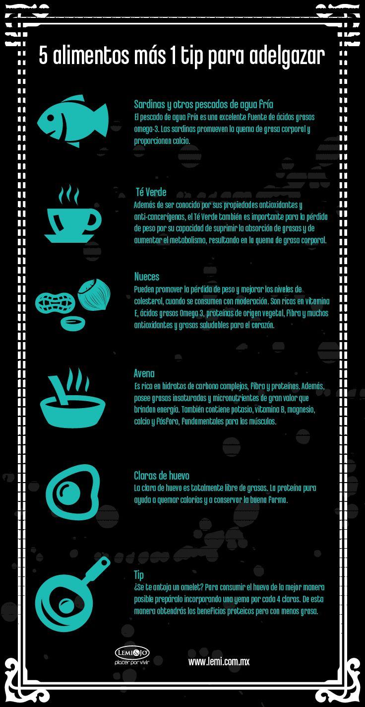 alimentos para adelgazar