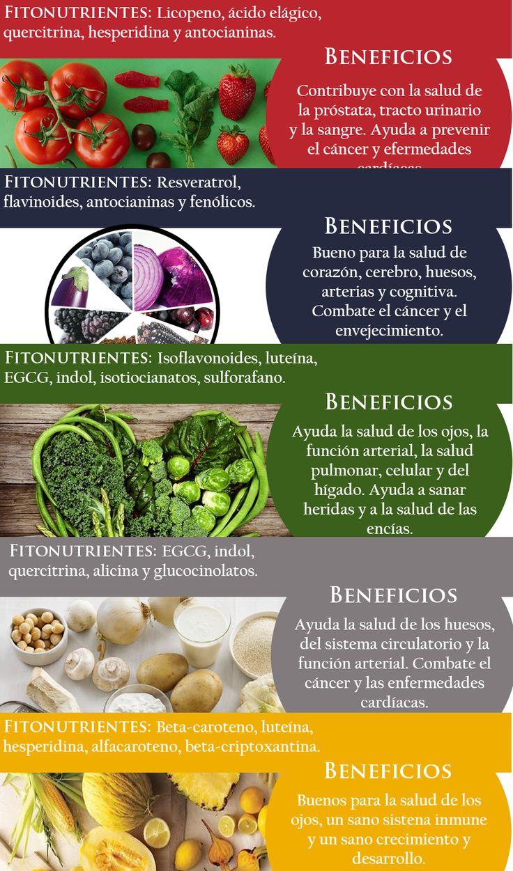 infografía fitonutrientes