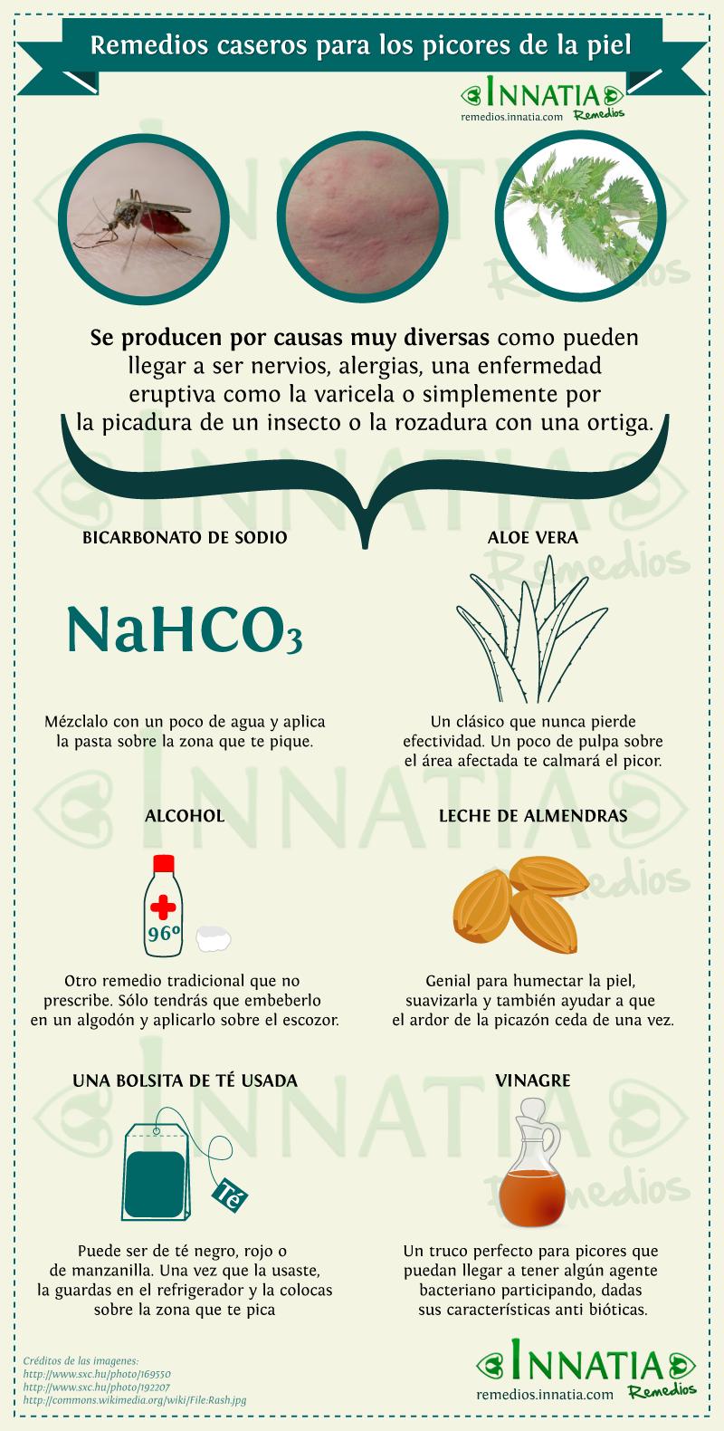 remedios caseros para los picores de la piel