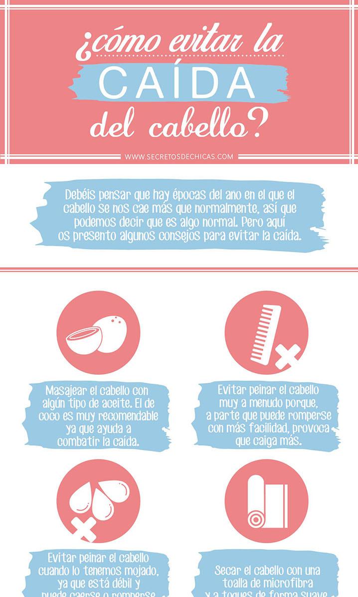 Tips para evitar la caída del cabello en mujeres