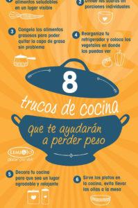 trucos de cocina para perder peso