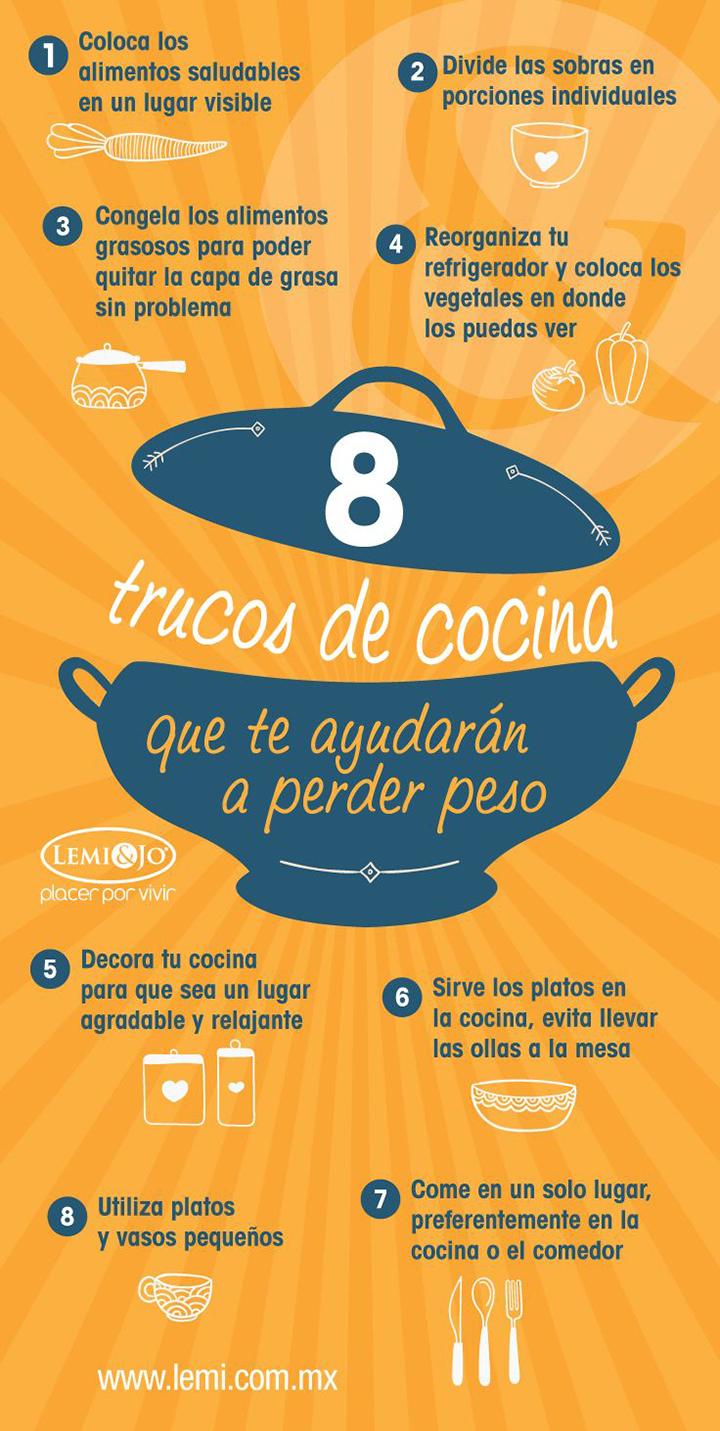 8 trucos de cocina que te ayudar n a perder peso for Peso de cocina