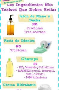 ingredientes tóxicos que debes evitar en tus cosméticos