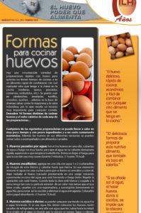 formas de cocinar los huevos