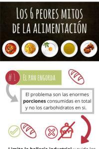 mitos sobre la alimentación