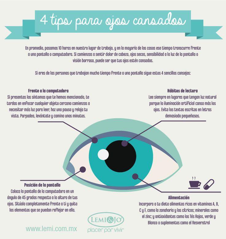 prevenir los ojos cansados