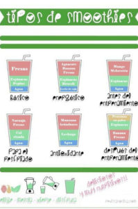 tipos de smoothies