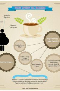 infusión para calmar las nauseas en el embarazo