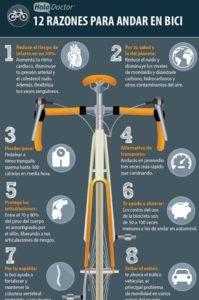 razones para desplazarse en bici