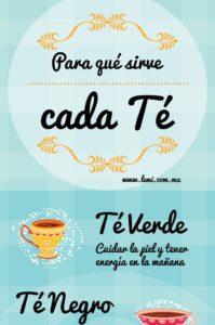 tipos de té