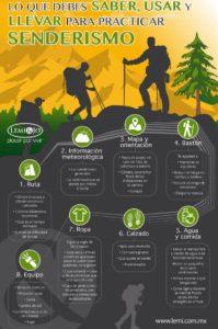 lo que necesitas para practicar senderismo