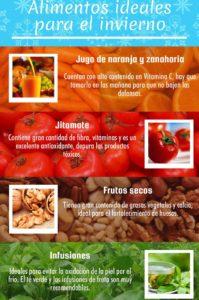 alimentos que deberías consumir en invierno