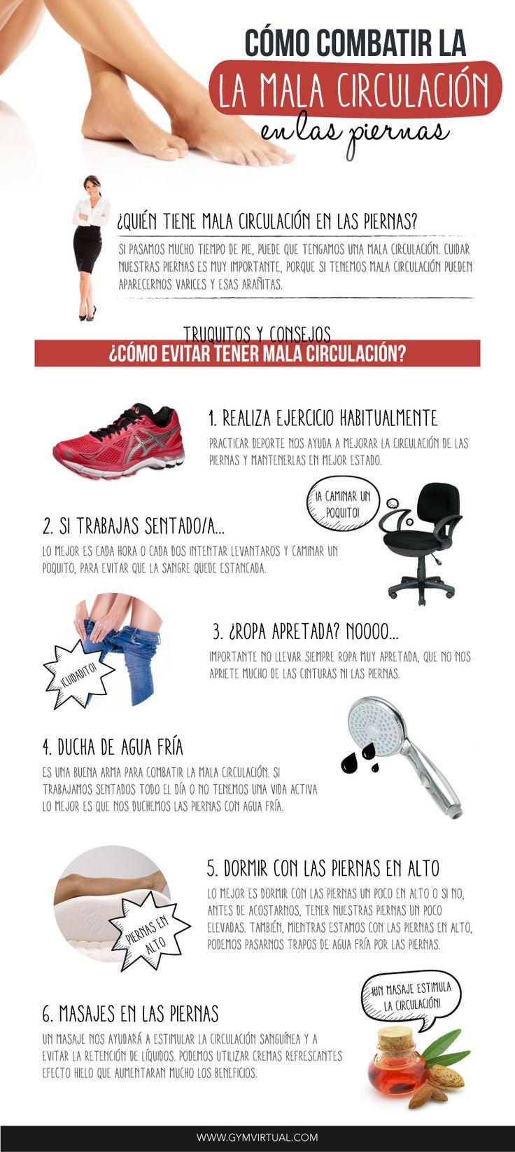 aliviar los problemas de circulación en las piernas