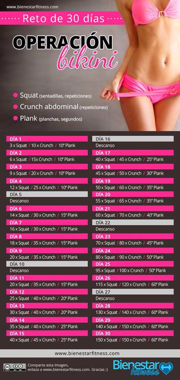 operación bikini en 30 días