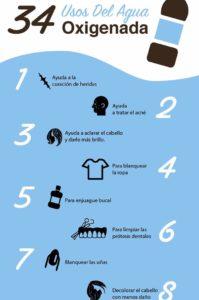 usos del agua oxigenada