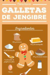 receta para hacer galletas de jengibre en navidad