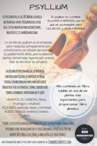 infografía sobre el psyllium