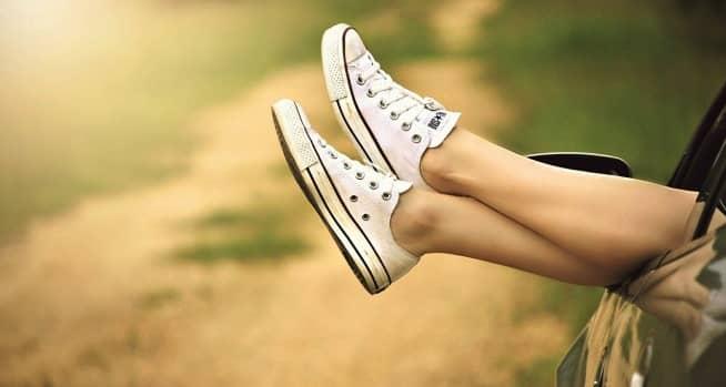 piernas en alto para las varices