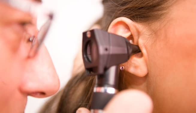 examen de pérdida auditiva